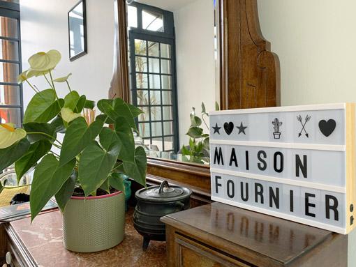 Maison Fournier - Location d'appartement - Entrée maison