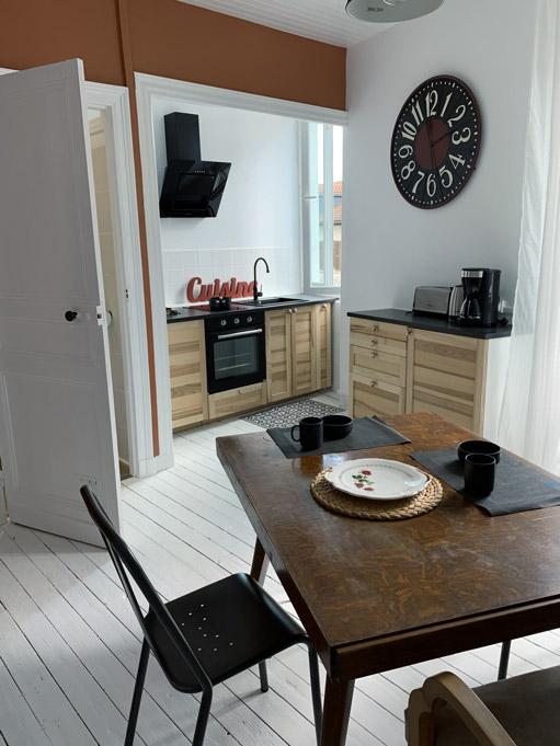 Studio Coquelicot meublé avec cuisine équipée - Location Dax