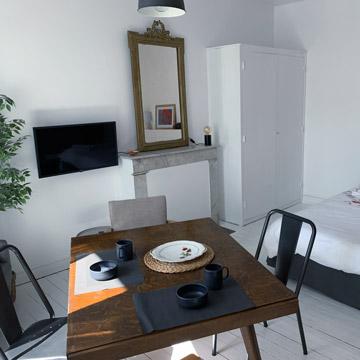 Studio Coquelicot - Séjour meublé - Location Dax