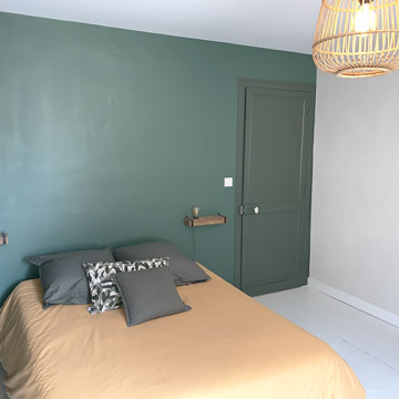 T3 Marguerite - Chambre équipée et décoration - Dax location