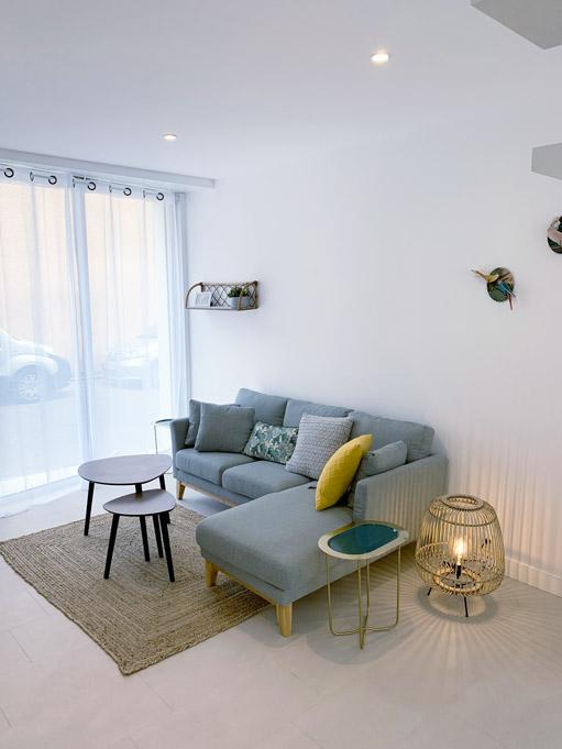 T3 Marguerite & Pâquerette meublé - Salon - Dax location